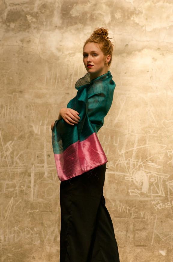 Schals aus Rohseide